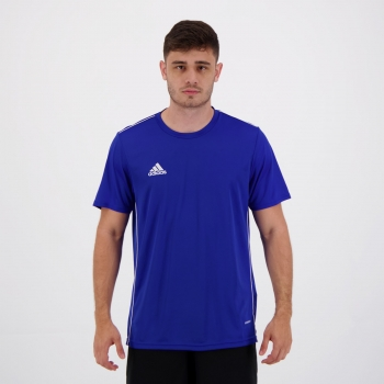 Camisa Adidas Core 18 II Azul