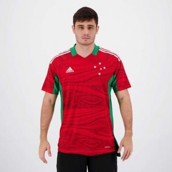 Camisa Adidas Cruzeiro Goleiro I 2021