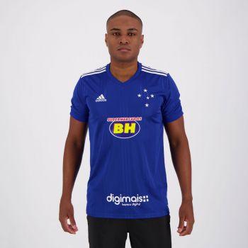 Camisa Adidas Cruzeiro I 2020 com Patrocínio