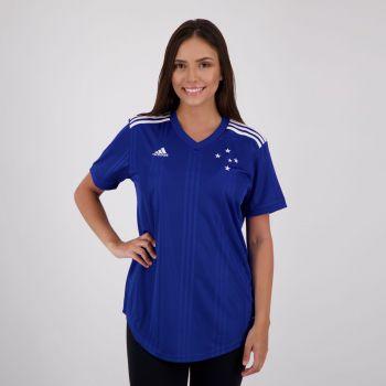 Camisa Adidas Cruzeiro I 2020 Feminina
