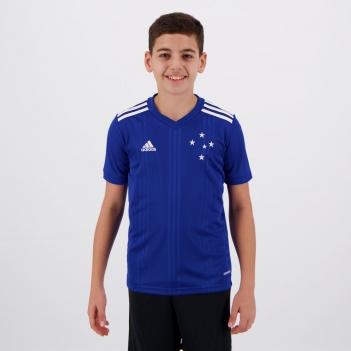 Camisa Adidas Cruzeiro I 2020 Juvenil
