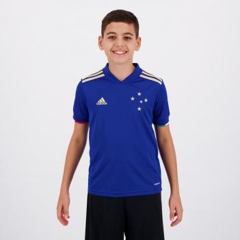 Camisa Adidas Cruzeiro I 2021 Juvenil