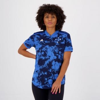 Camisa Adidas Cruzeiro III 2020 Feminina