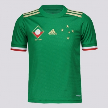 Camisa Adidas Cruzeiro III 2021 Juvenil