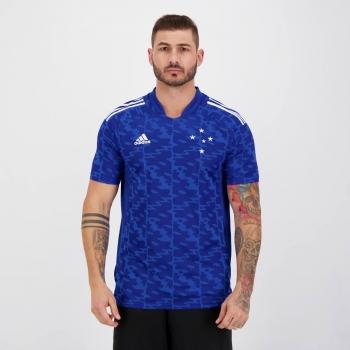 Camisa Adidas Cruzeiro Pré Jogo 2021