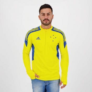 Blusão Adidas Cruzeiro Treino Amarela