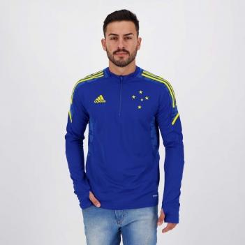 Blusão Adidas Cruzeiro Treino Azul