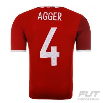 Camisa Adidas Dinamarca Home 2016 4 Agger