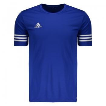 Camisa Adidas Entrada 14 Azul