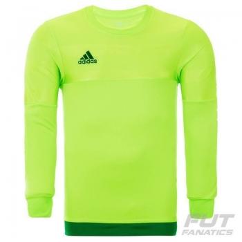 Camisa Adidas Entry 15 Goleiro Verde