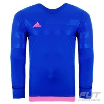 Camisa Adidas Entry 15 Goleiro Azul