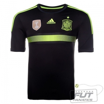 Camisa Adidas Espanha Away 2014