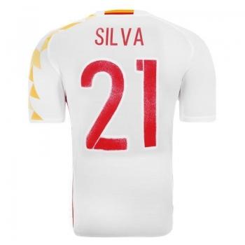 Camisa Adidas Espanha Away 2016 21 Silva