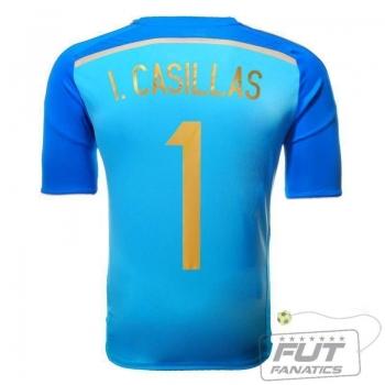 Camisa Adidas Espanha GK I 2014