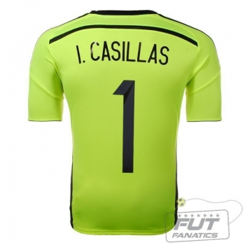 Camisa Adidas Espanha GK II 2014