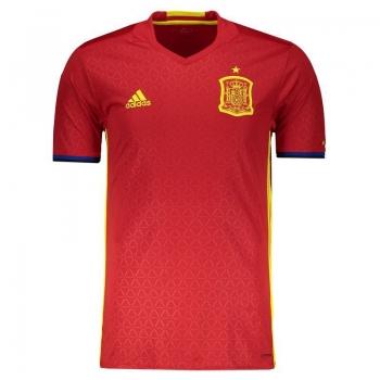 Camisa Adidas Espanha Home 2016