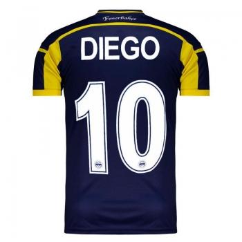 Camisa Adidas Fenerbahce Home 2015 10 Diego