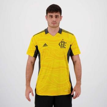 Camisa Adidas Flamengo Goleiro I 2021