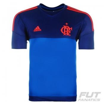 Camisa Adidas Flamengo Goleiro I 2015 Azul