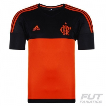 Camisa Adidas Flamengo Goleiro II 2015 Laranja