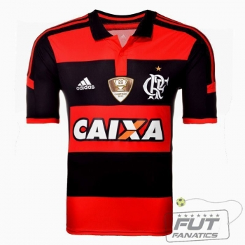 Camisa Adidas Flamengo I 2014 C/ Patch