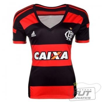 Camisa Adidas Flamengo I 2014 Feminina