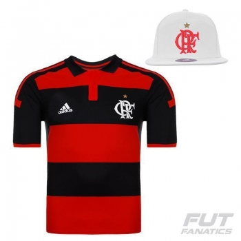 Camisa Adidas Flamengo I 2014 Jogador + Boné