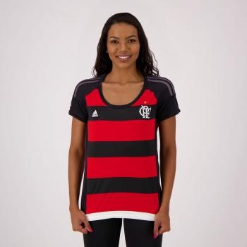 Camisa Adidas Flamengo I 2015 Feminina