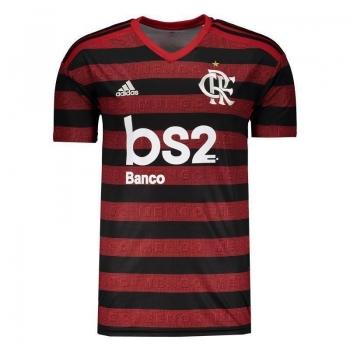 Camisa Adidas Flamengo I 2019 com Patrocínio