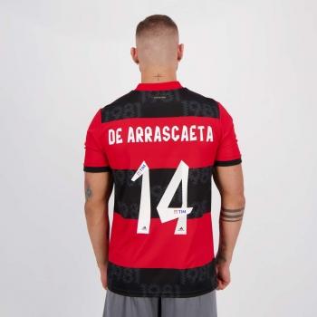 Camisa Adidas Flamengo I 2021 14 De Arrascaeta