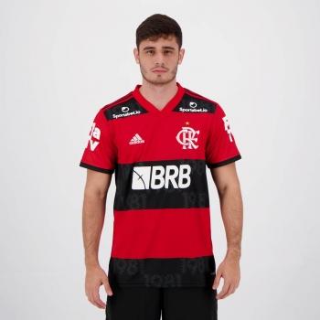 Camisa Adidas Flamengo I 2021 com Patrocínio