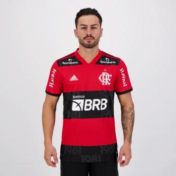 Camisa Adidas Flamengo I 2021 Com Patrocínio Havan