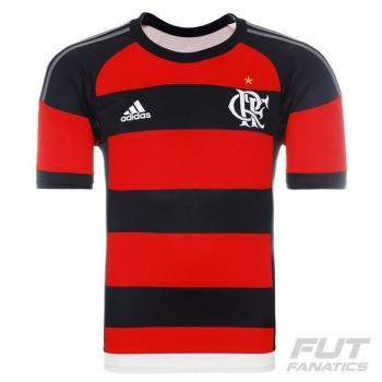 Camisa Adidas Flamengo I 2015 Juvenil