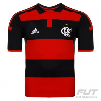 Camisa Adidas Flamengo I 2014 Jogador sem Patrocínio