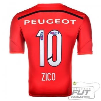 Camisa Adidas Flamengo III 2015 10 Zico