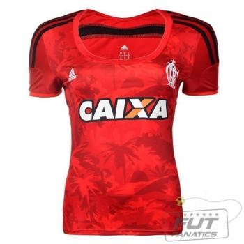 Camisa Adidas Flamengo III 2015 Feminina