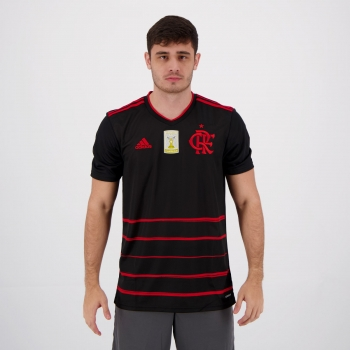 Camisa Adidas Flamengo III 2020 Campeão Brasileirão 2019