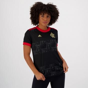 Camisa Adidas Flamengo III 2021 Feminina