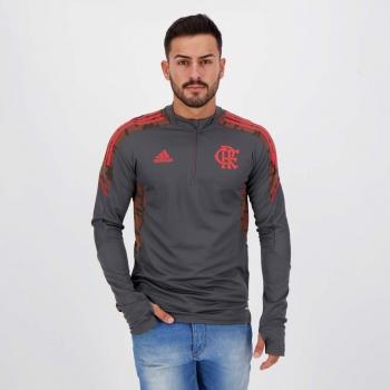 Blusão Adidas Flamengo Treino Chumbo