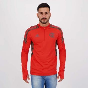Blusão Adidas Flamengo Treino Vermelha