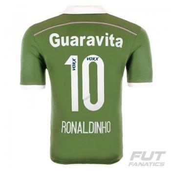 Camisa Adidas Fluminense III 2015 10 Ronaldinho