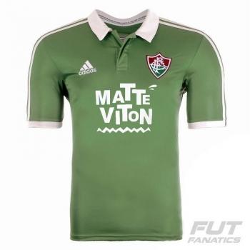 Camisa Adidas Fluminense III 2015 com Patrocínios
