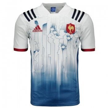 Camisa Adidas França Rugby Authentic