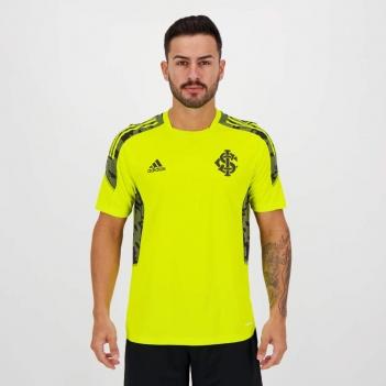 Camisa Adidas Internacional Treino 2021 Amarela