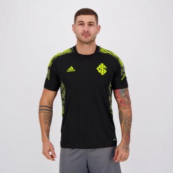 Camisa Adidas Internacional Treino 2021 Preta