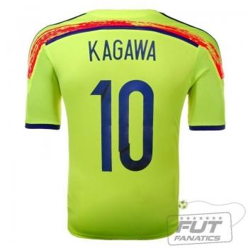 Camisa Adidas Japão Away 2014 10 Kagawa