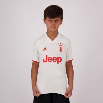 Camisa Adidas Juventus Away 2020 Juvenil
