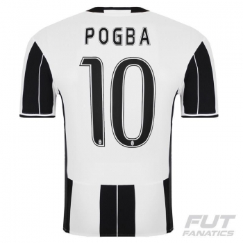 Camisa Adidas Juventus Home 2017 10 Pogba