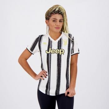 Camisa Adidas Juventus Home 2021 Feminina