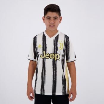 Camisa Adidas Juventus Home 2021 Infantil